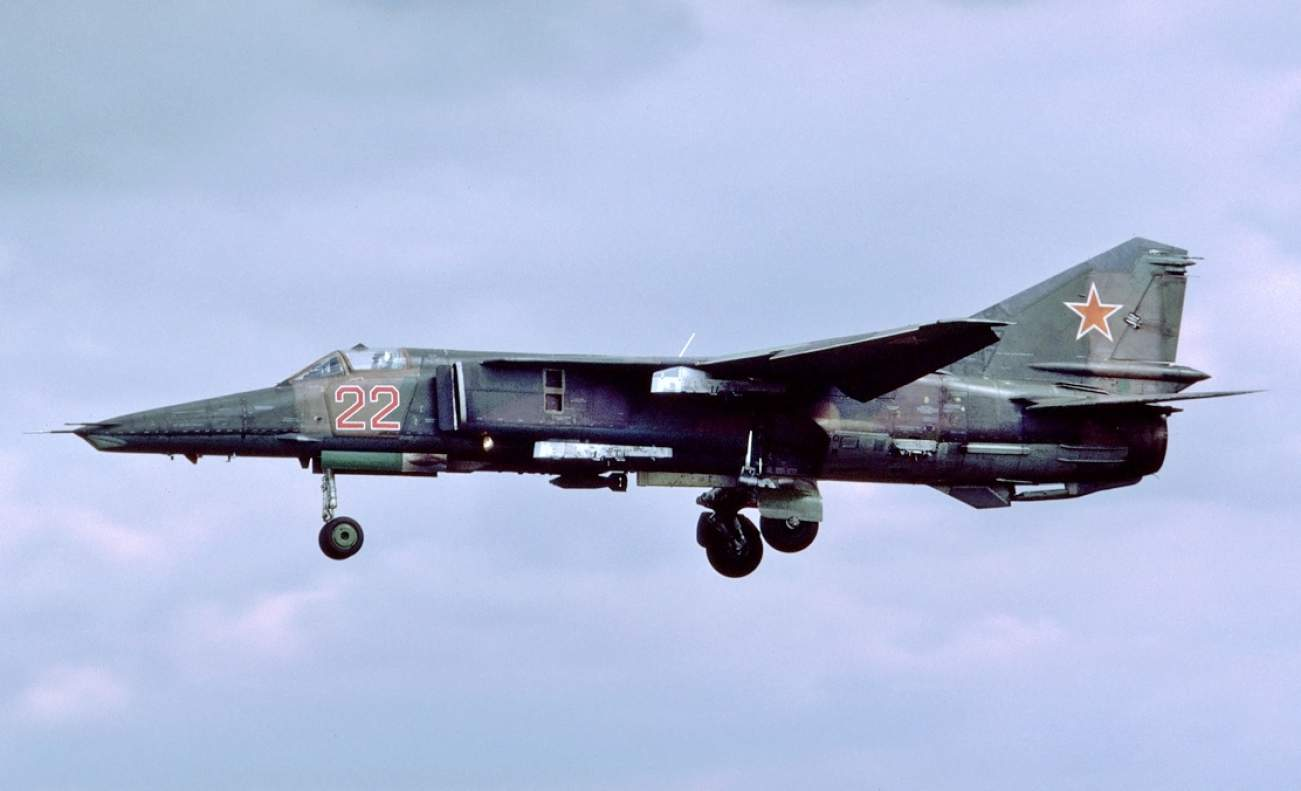 How Russia Realized The MiG-27's Gatling Gun Was Too Powerful For Its Own Good
