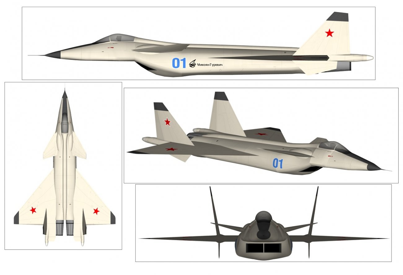 Russia's Stealth MiG 1.44 Fighter: Built to Kill F-22 Raptors