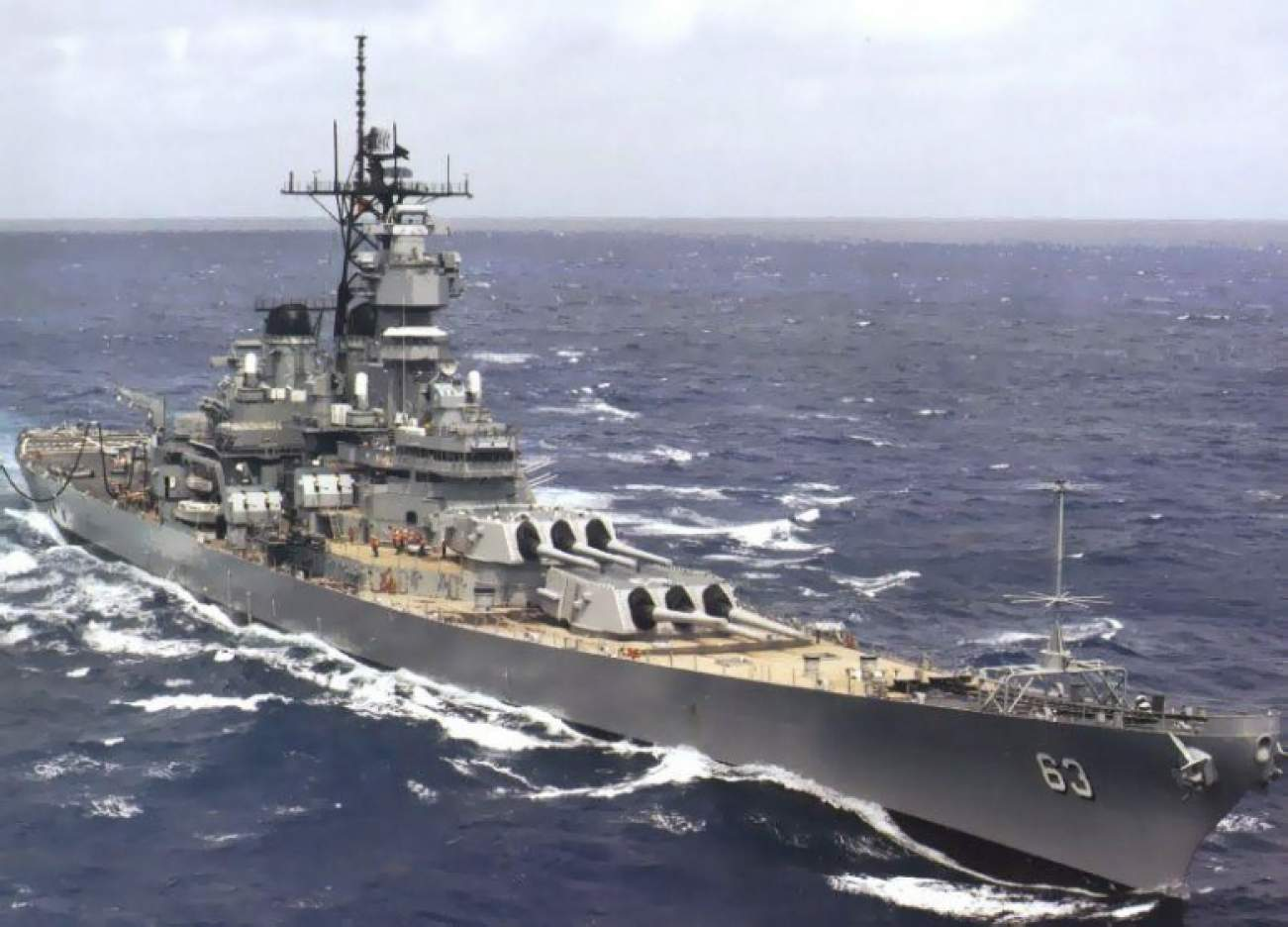Top 5 Battleships of All Time | The National Interest