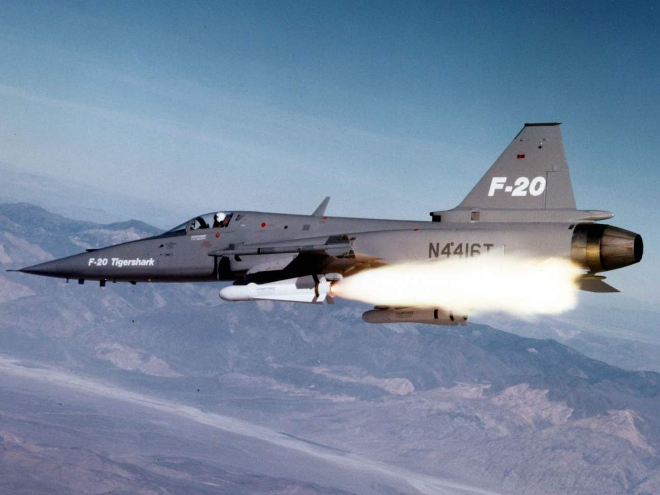 Meet the F-20 Tigershark: The Fighter the Air Force Turned
