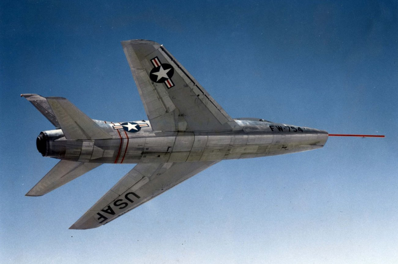 The Air Force's First Supersonic Fighter Jet Was Far From Perfect
