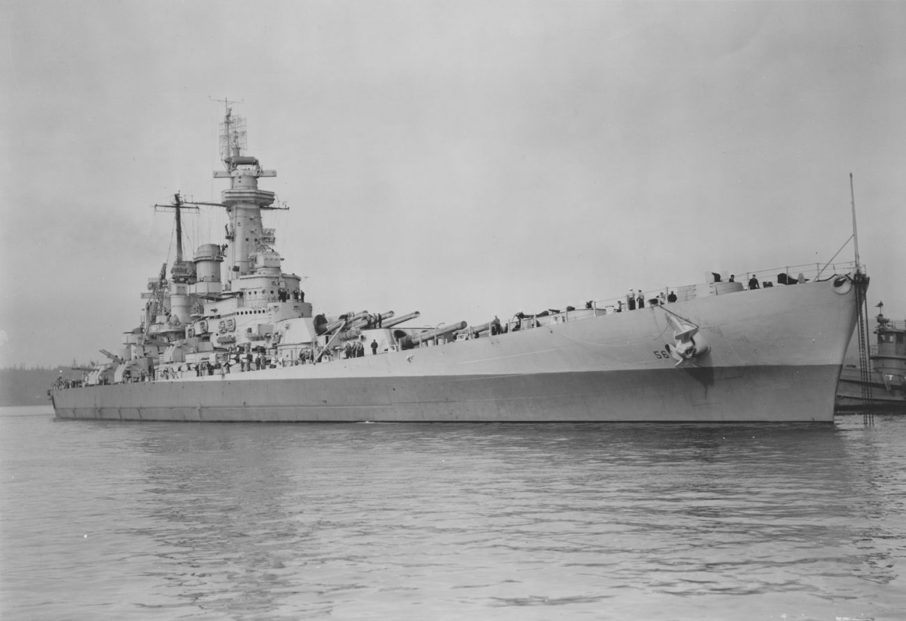 USS Washington: The U.S. Navy Battleship That Terrified Imperial Japan