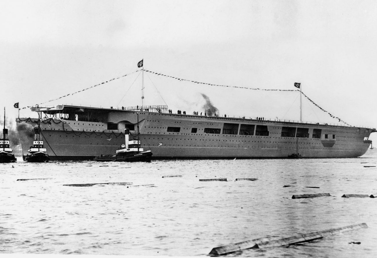 Why Nazi Germany's Aircraft Carrier, the Graf Zeppelin, Never Saw Battle