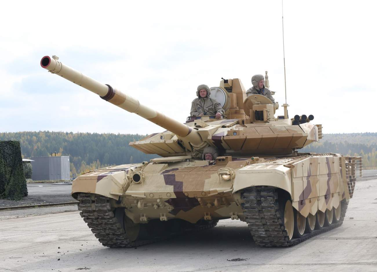 Russia Keeps Losing Its T-90 Tanks in Syria for One Reason
