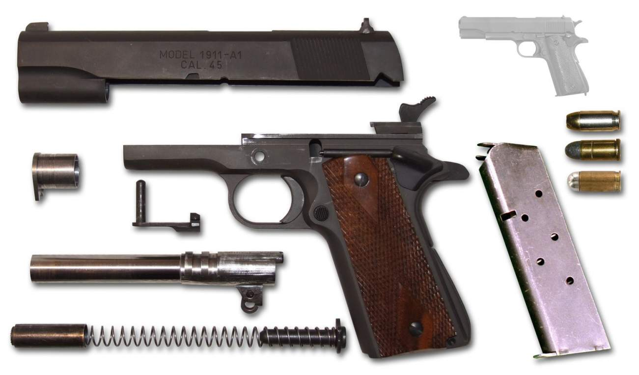 100 Years of War: Why the 1911 Pistol Remained the Army's Sidearm of Choice
