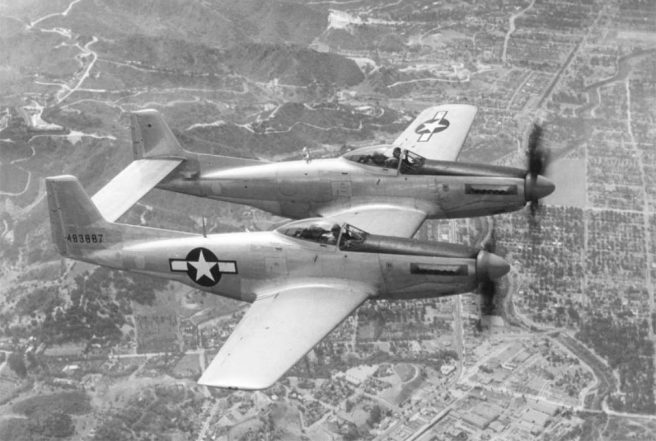 The Story of The F-82 Jet Fighter Will Surprise You