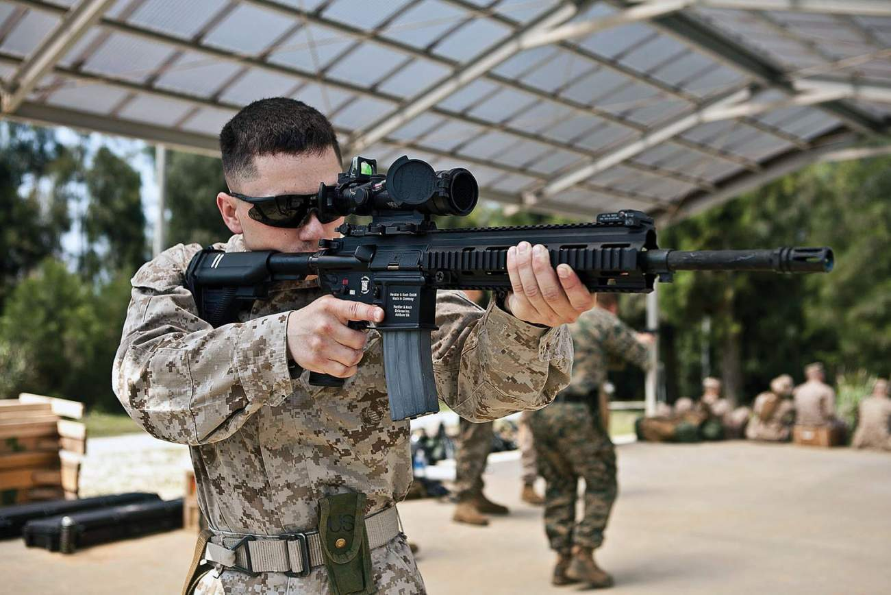 Here's Why the Powerful HK416 Rifle Is About to Get Even Deadlier