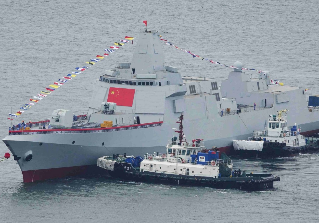 China Is Building More and More Type 055 Destroyers. Can They Fight?