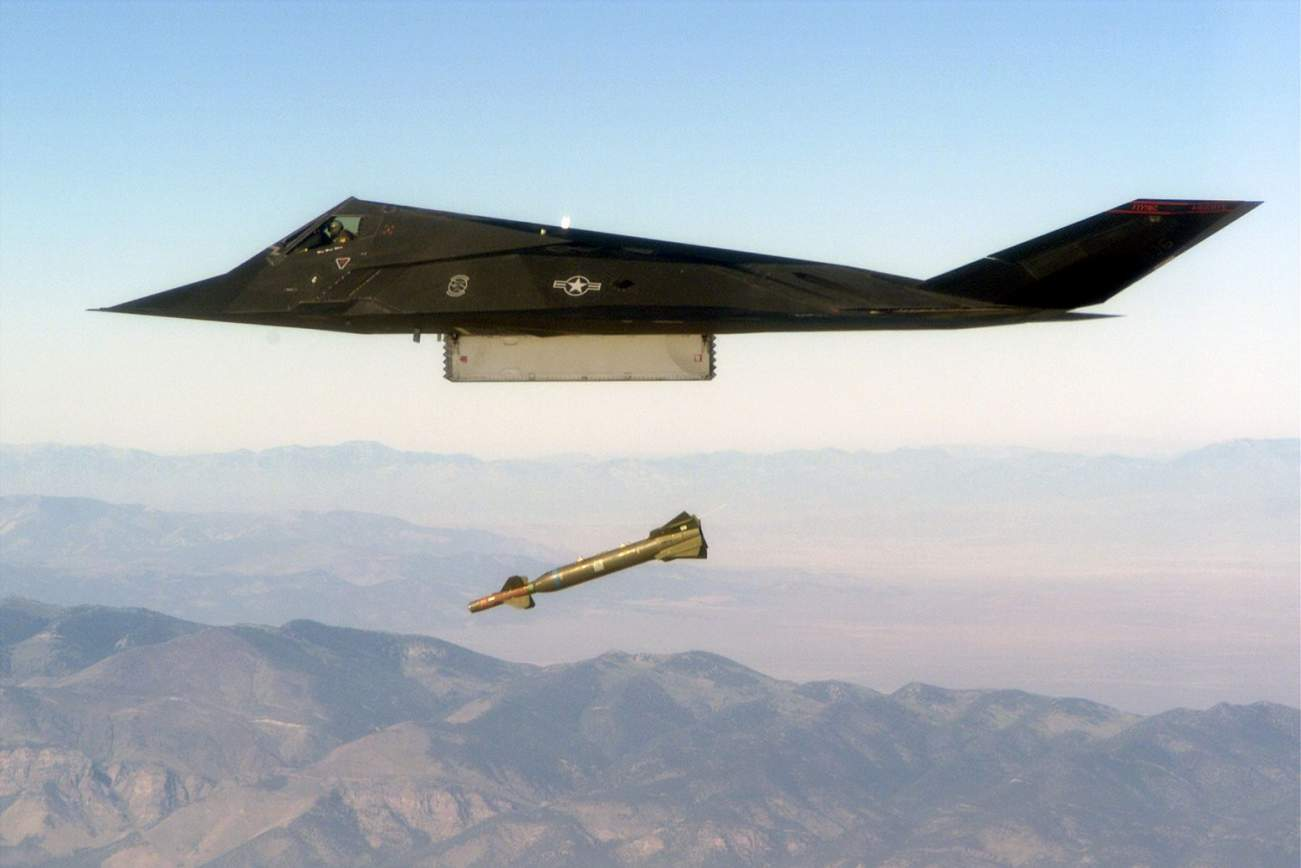 Surprise! The F-117 Nighthawk Stealth Fighter Is Back in Action