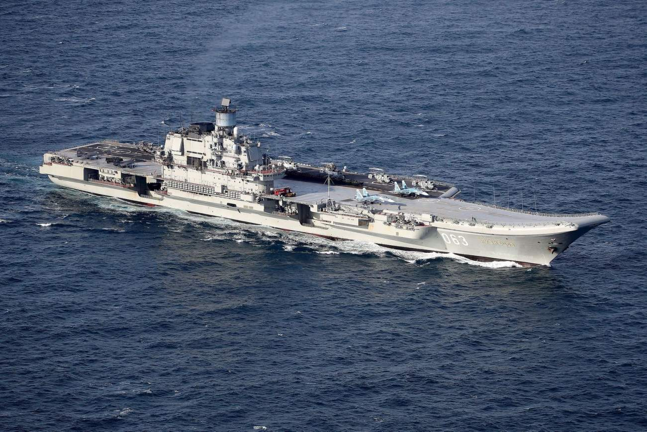 The Terrible Reason Why Russia Doesn't Have More Aircraft Carriers for Its Navy