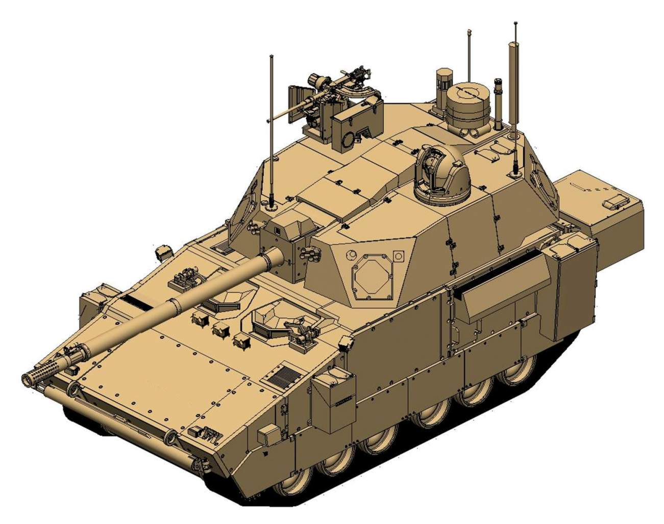 """The ARMY Wants a New, Lighter """"Tank"""" That Can Be Transported by Plane"""