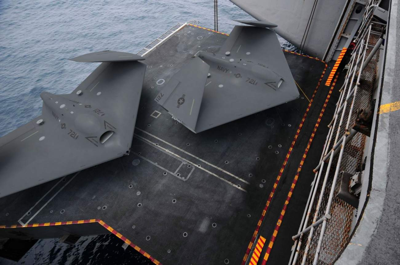 The MQ-25 Stingray Program Is the Navy's Secret Plan to Keep Its Aircraft Carriers Going