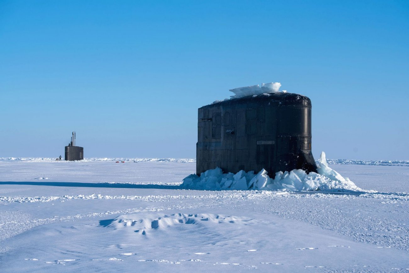 Why American Subs Are Training to Fight Russia in the Arctic Circle