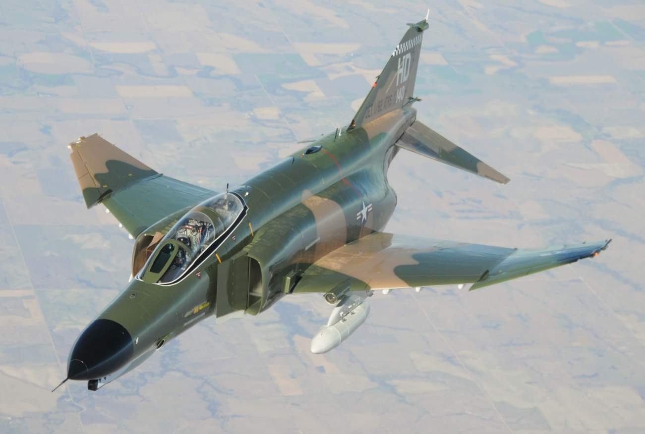 It's Hard To Believe That The F-4 Phantom Is Still Flying After 60 Years