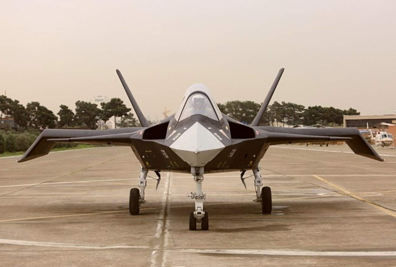 This Picture Shows What Iran Claims Is Its Very Own Stealth Fighter
