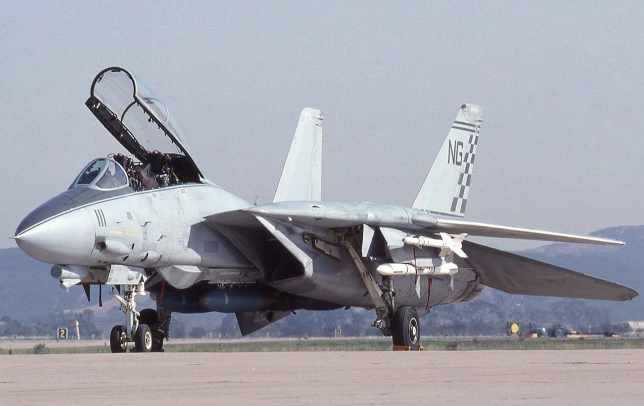 "How the Legendary F-14 Tomcat Transformed into the F-14 ""Bombcat"""