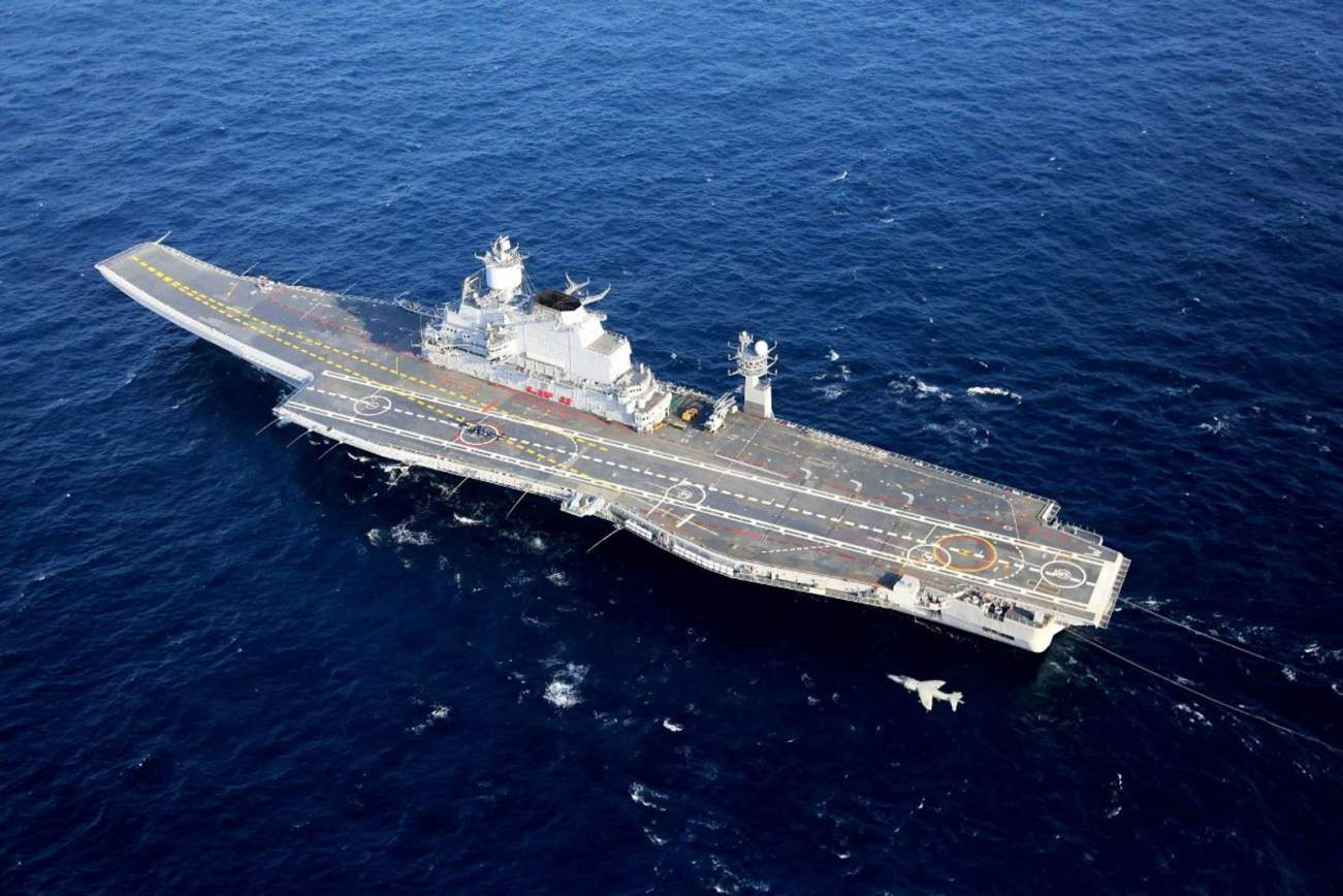 Why India's Russian-Built Aircraft Carrier Was a Disaster