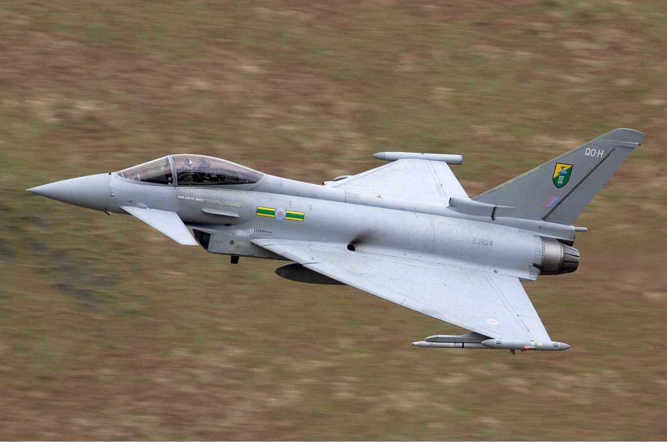 It's No F-35, But The Eurofighter Is A Capable (And Cheaper) Dog Fighter
