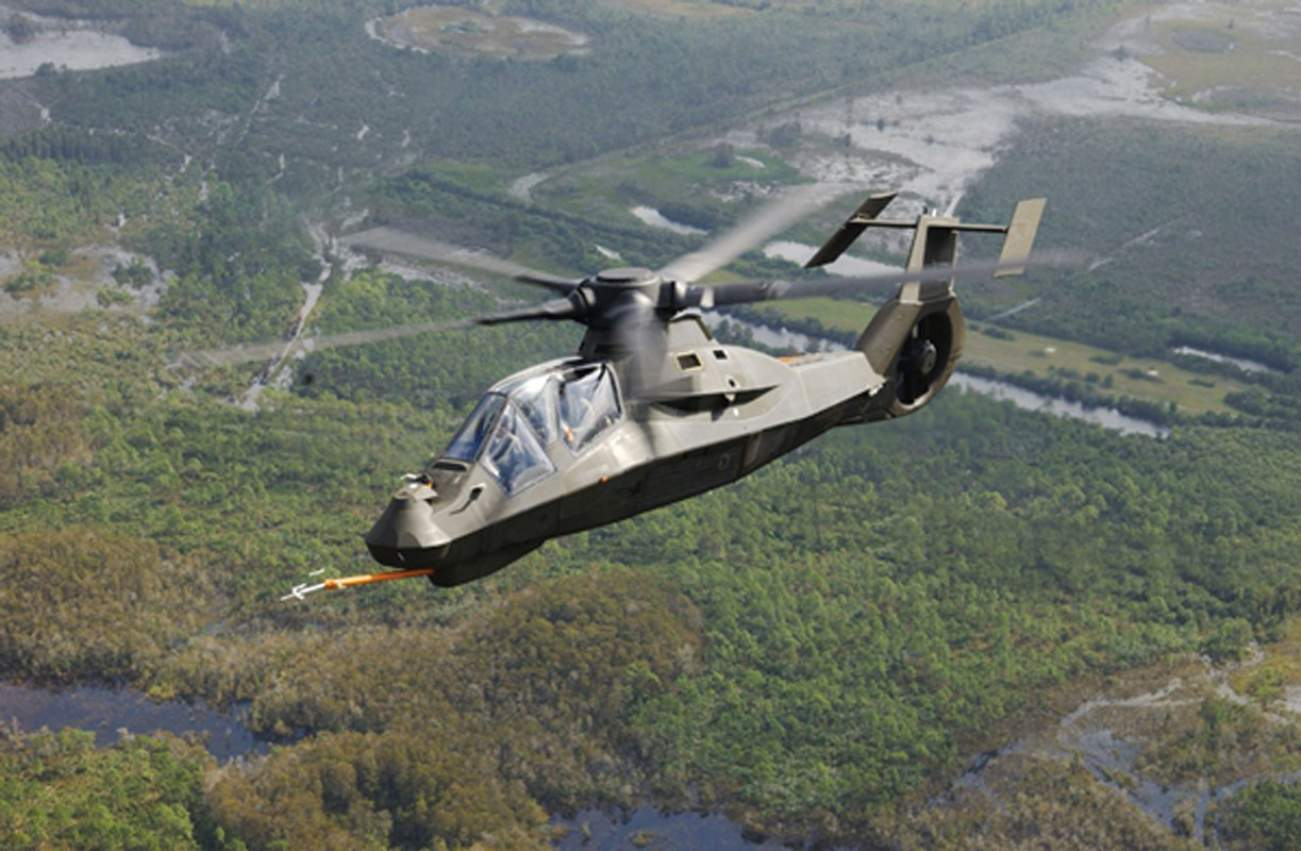 This Helicopter Looks Straight Out Of Science Fiction—But It Was an Epic Failure