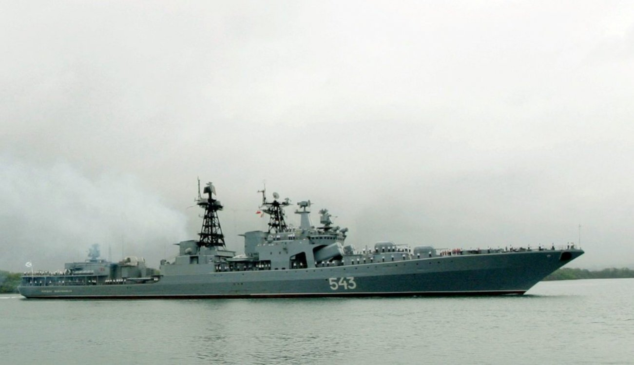 Testing the Waters: Russia is Loading its Frigates With Tons of Missiles
