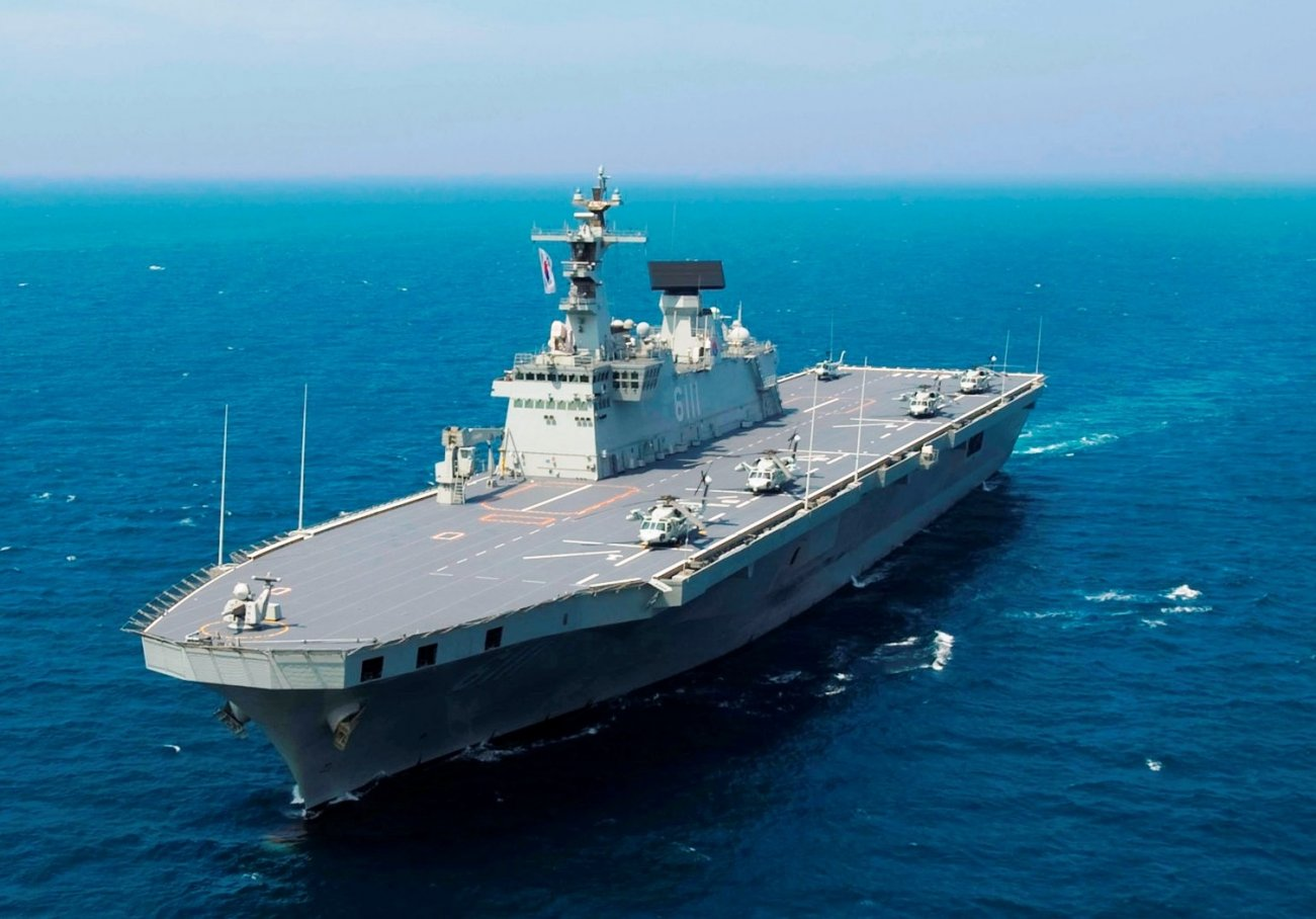 South Korea is Getting 'Light' Aircraft Carriers