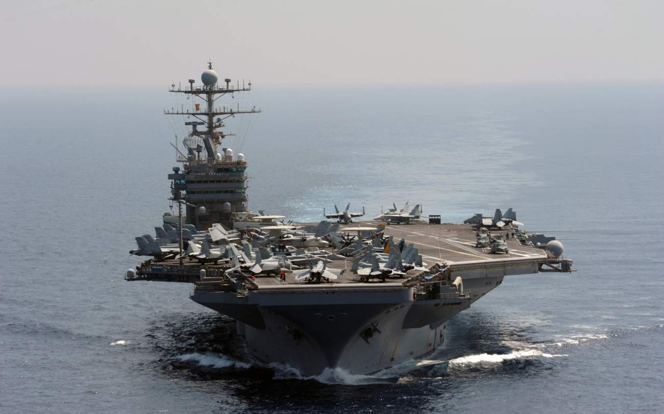 Steel Beast: Can a 100,000 Ton Aircraft Carrier Make Crazy Turns?