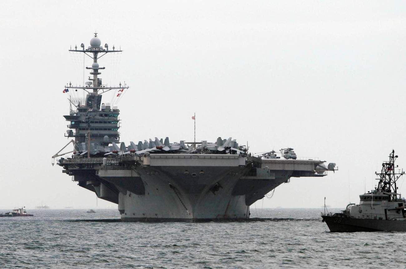 Why Every Sailor On An Aircraft Carrier Fears Fire More Than Missiles