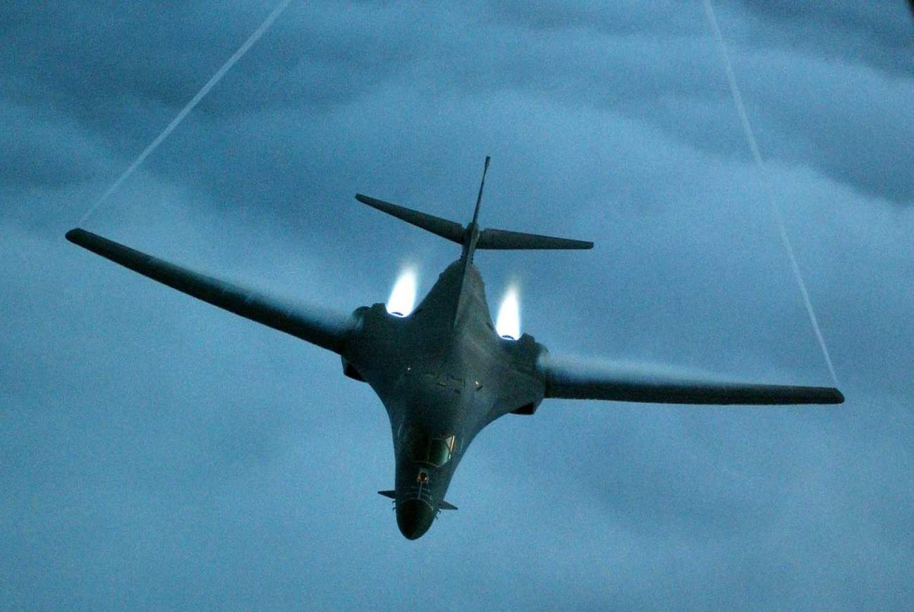 Showtime: The B-1 Bomber's New Missile Could Sink China Or Russia's Navy