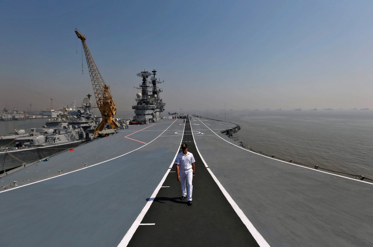 When India's Aircraft Carrier Caught Fire, China Thought It Knew Why