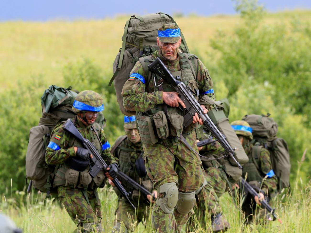 I Just Returned from NATO's Front Lines in the Baltics (And Russia Was On Everyone's Mind)