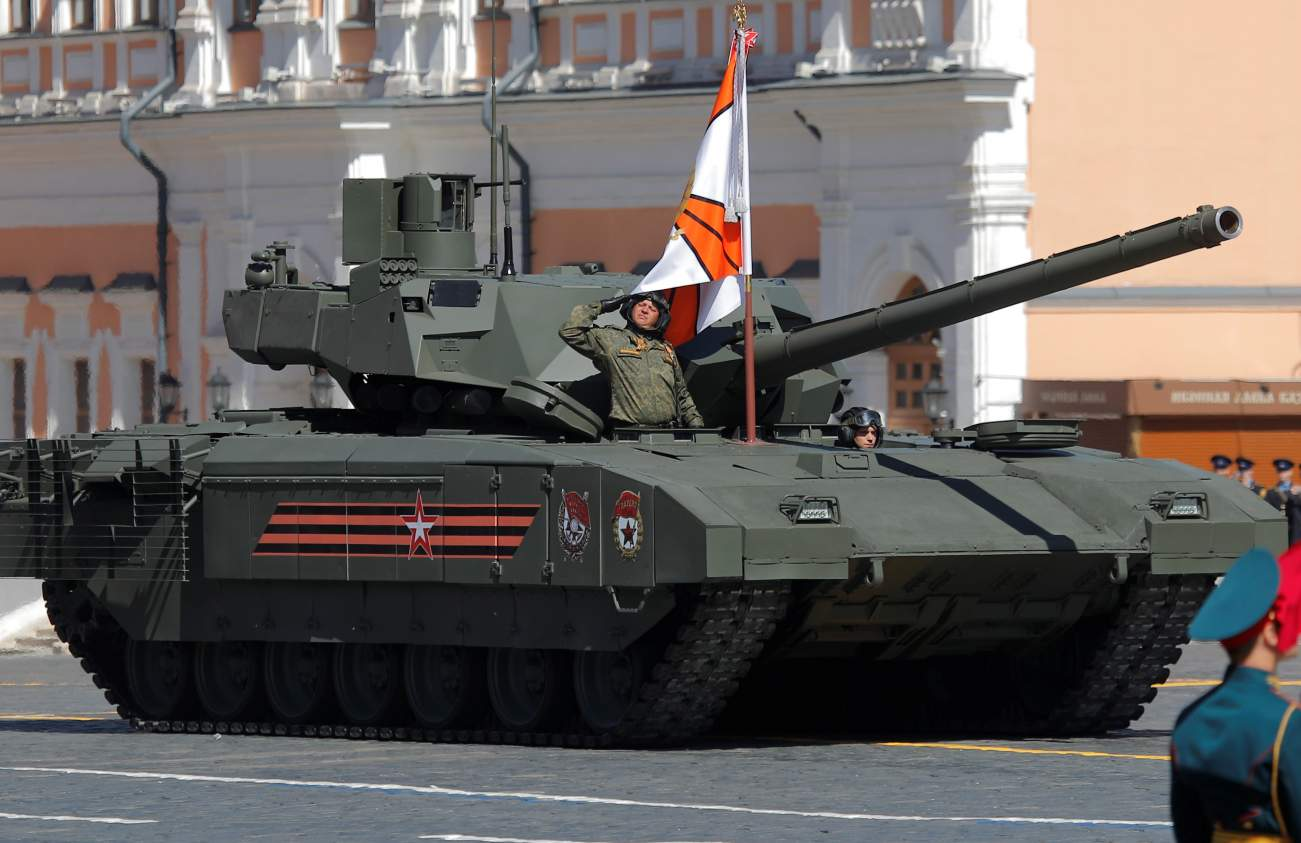 Armata: How Russia Plans to Ditch Its Old Soviet Armor (But There Is a Problem)