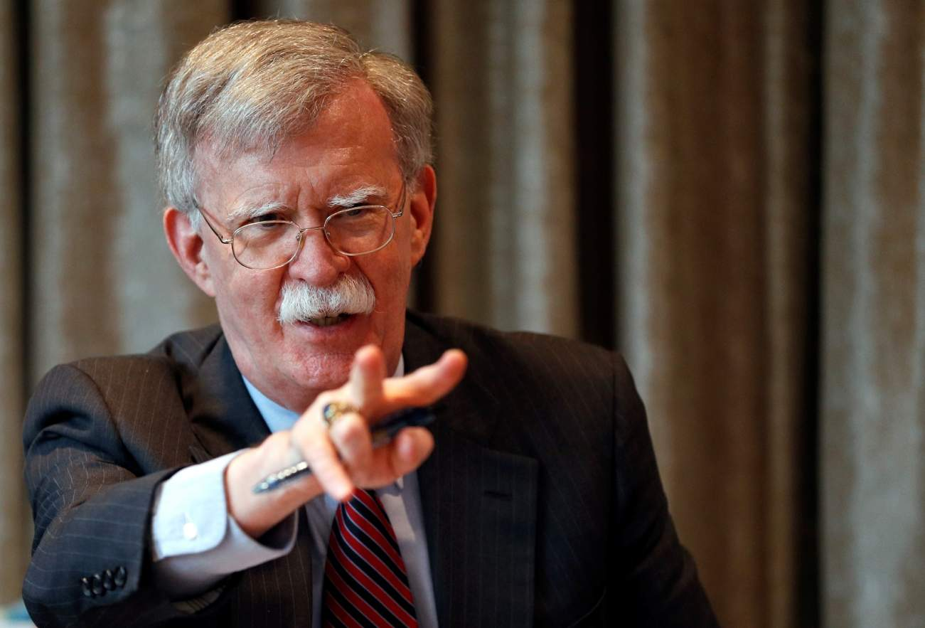 Is John Bolton Boxing In Donald Trump?
