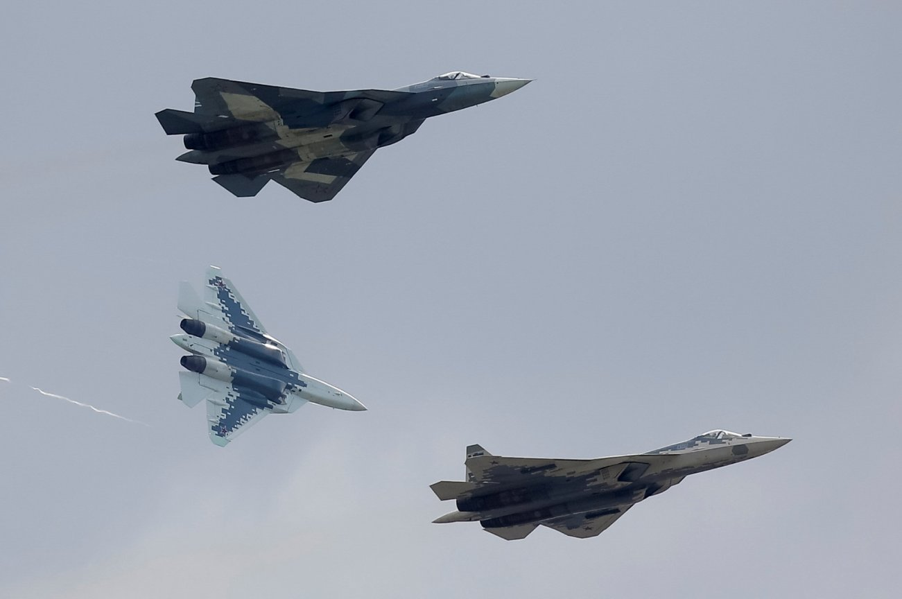Stealth For Days: Russia Is Rapidly Procuring More Fifth-Generation Su-57s
