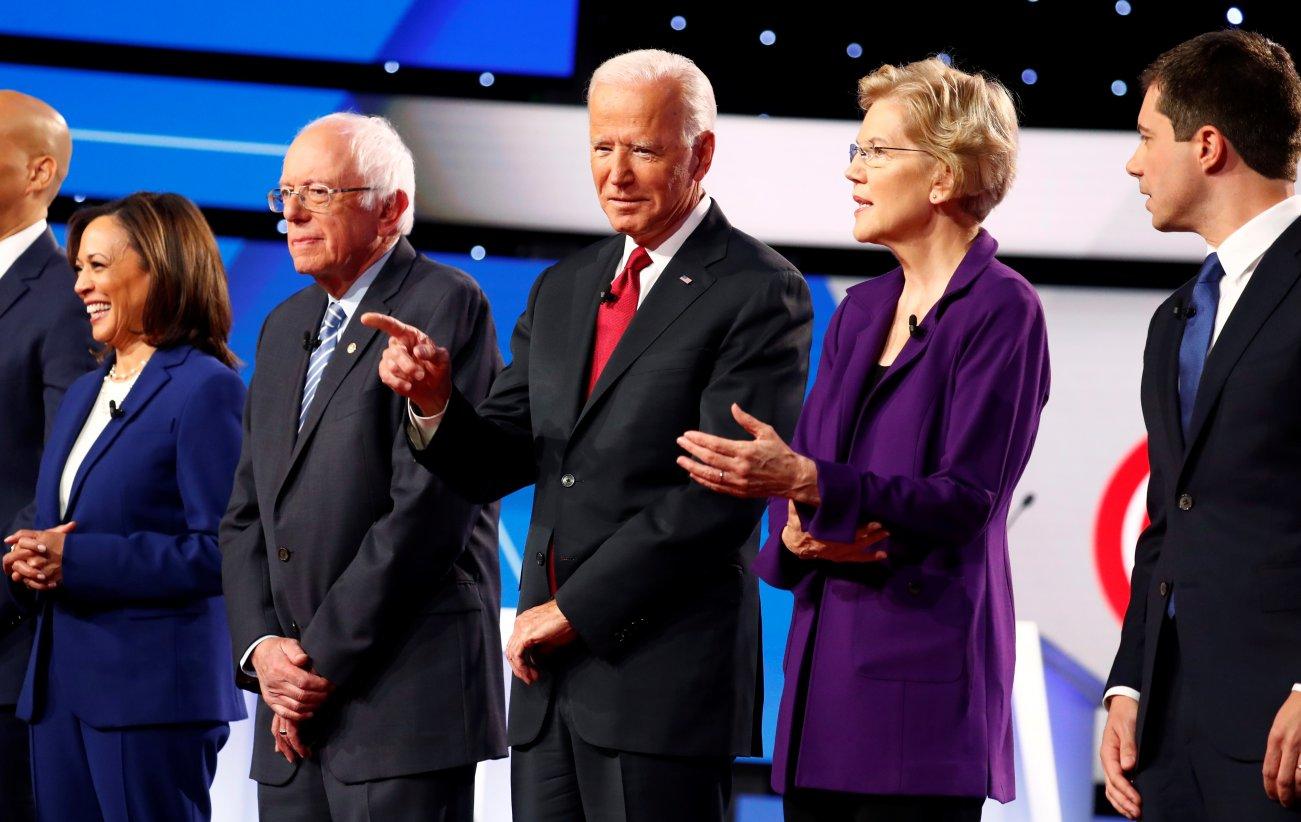 Fight Night: The Dem Debate Put a Spotlight on Impeachment