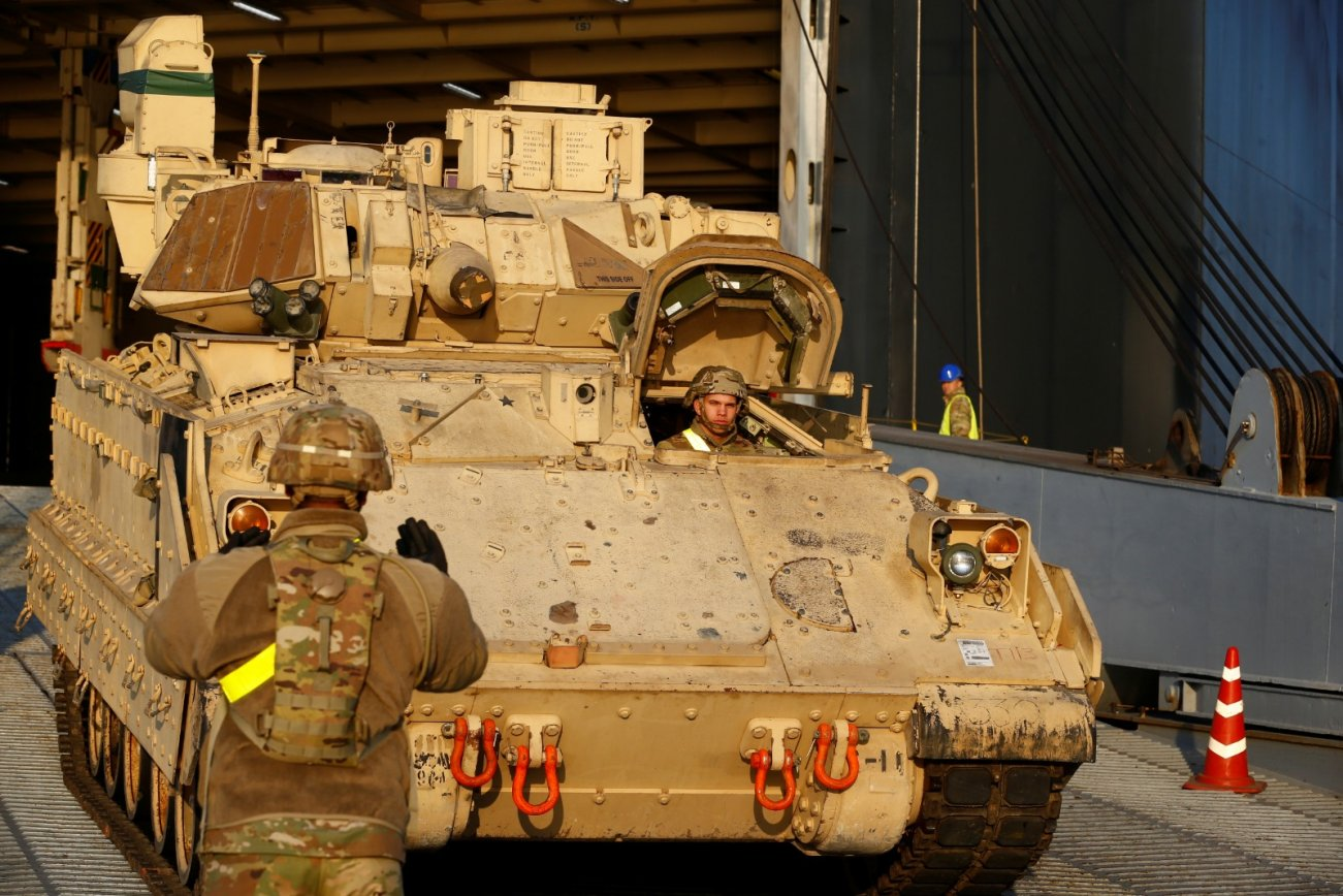 The Army Is Bringing Artificial Intelligence To Its Armored Vehicles