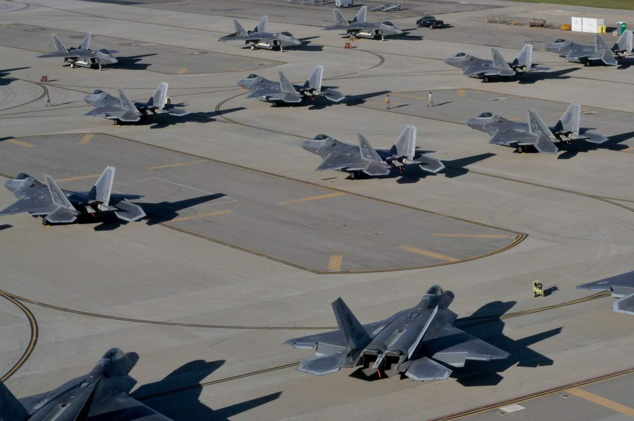 The F-22 Is The World's Best Jet Fighter. But It Still Can't Beat a Hurricane.