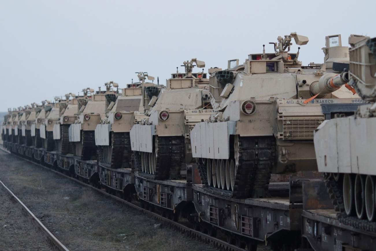 The Army Now Has Enough Upgraded Abrams Tanks To Equip An Entire Brigade