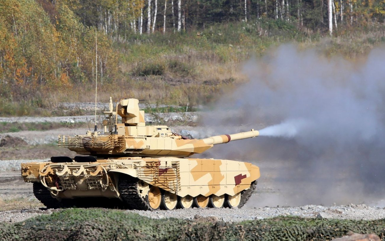 Russia's Tanks Might Have One Serious Flaw