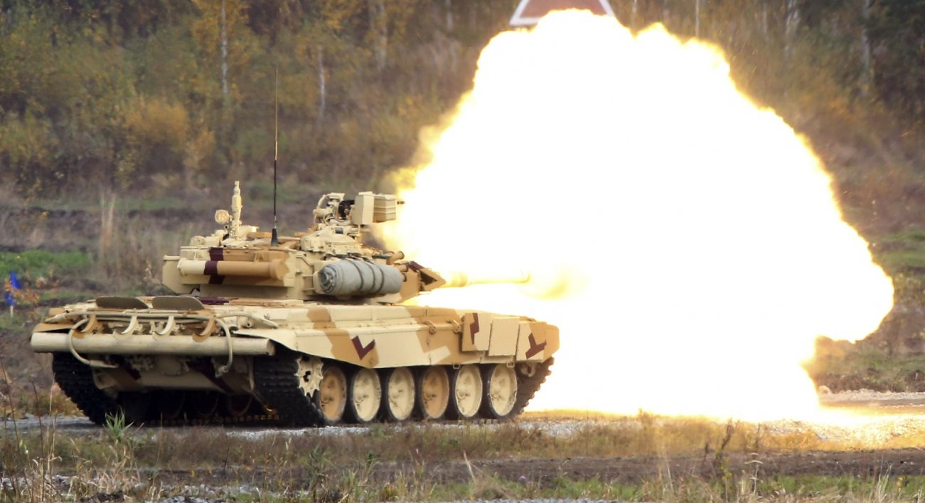 Russia's T-90 Tank Was Considered One of the Best (Until It Went to Syria)