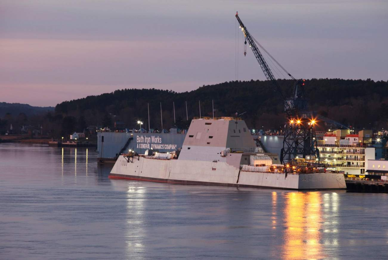 FIRE! The Zumwalt-Class Stealth Destroyer Is Getting a Big Redesign