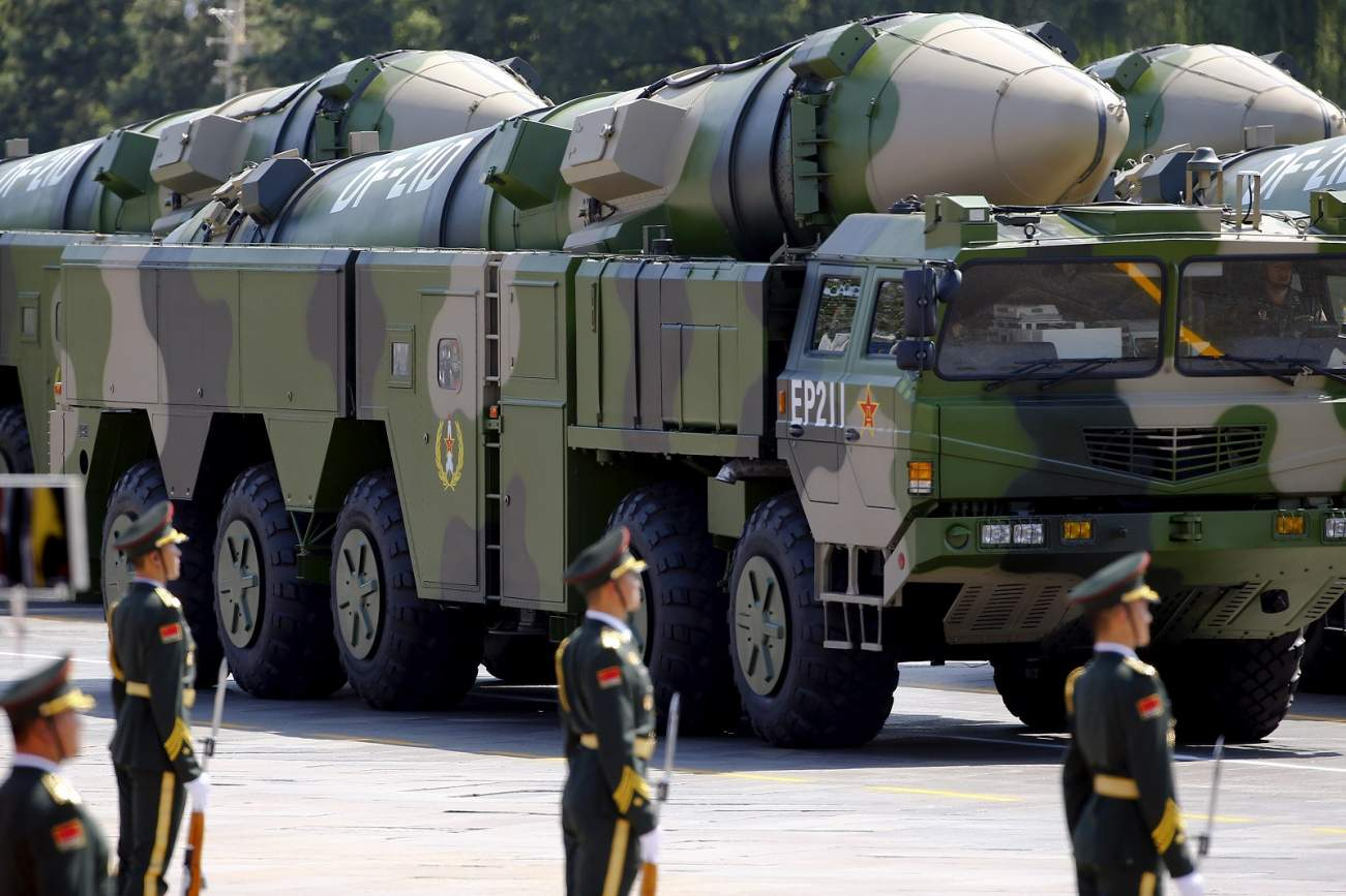 Report: A Sudden Chinese Missile Attack Could Wipe Out U.S. Forces in a War