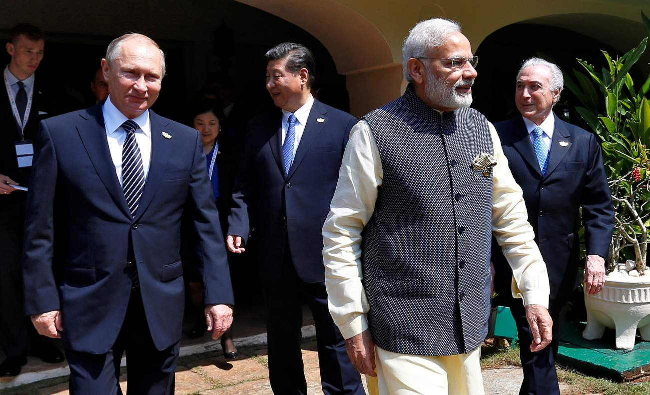 Russia Tries to Balance India and China