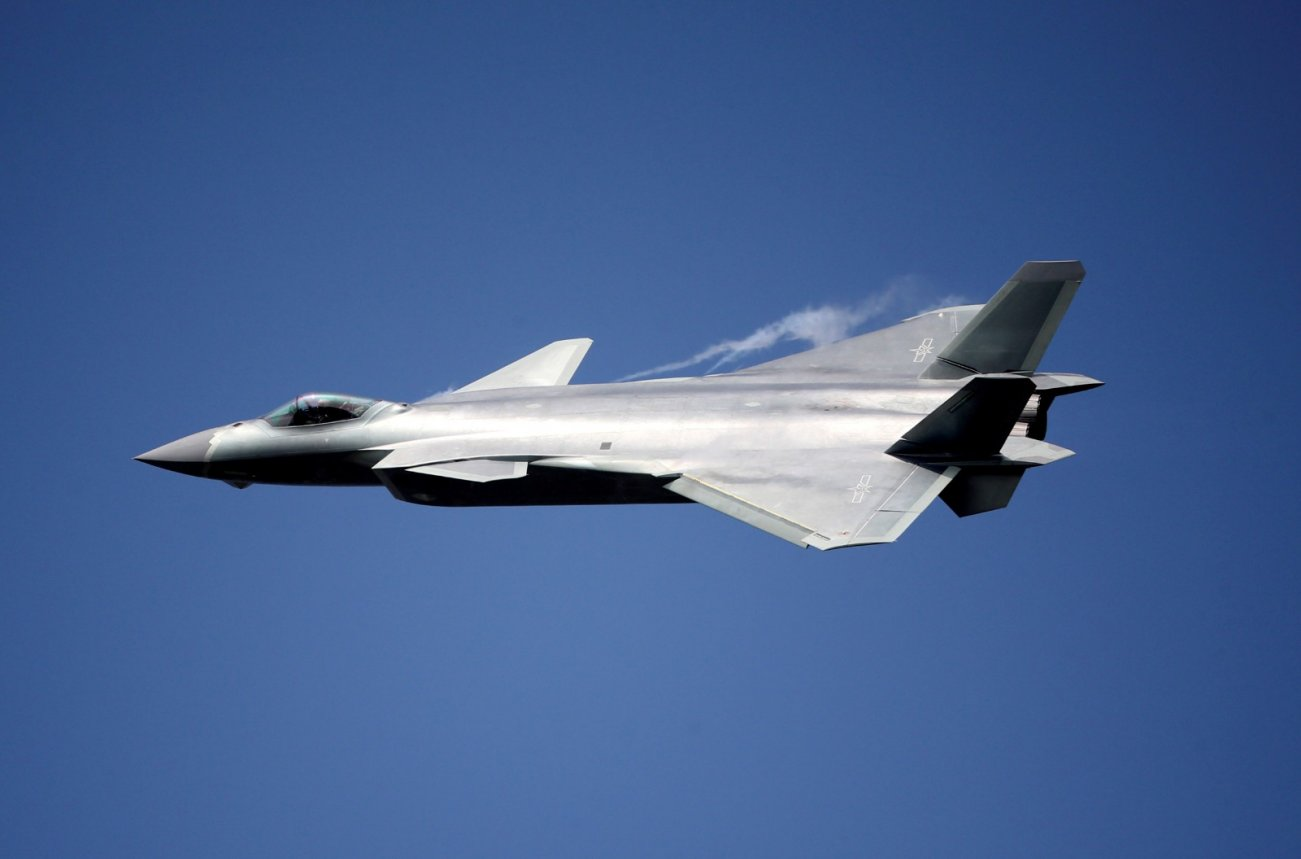 China's J-20 Stealth Fighter Surely Has F-35 'DNA'