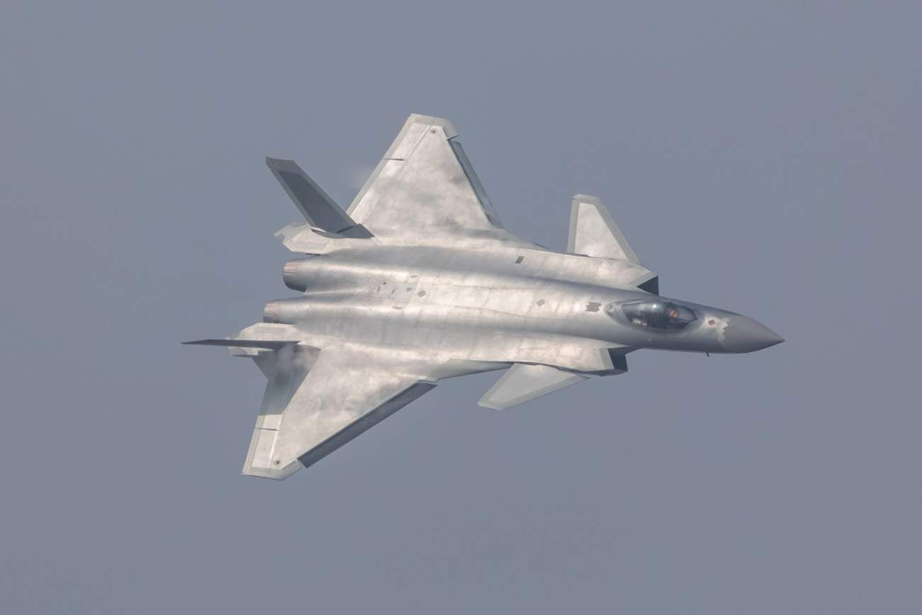 China Has Unveiled Its J-20 Stealth Fighter, And It's Missiles Far Out-Range America's