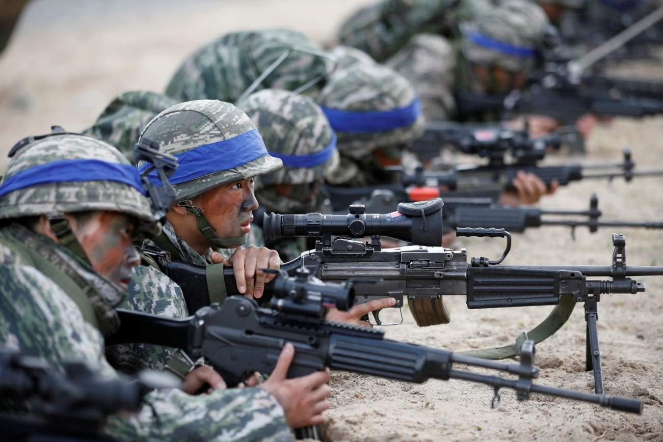 South Korea's Marines Are The Tip Of Its Spear Against North Korea in a War