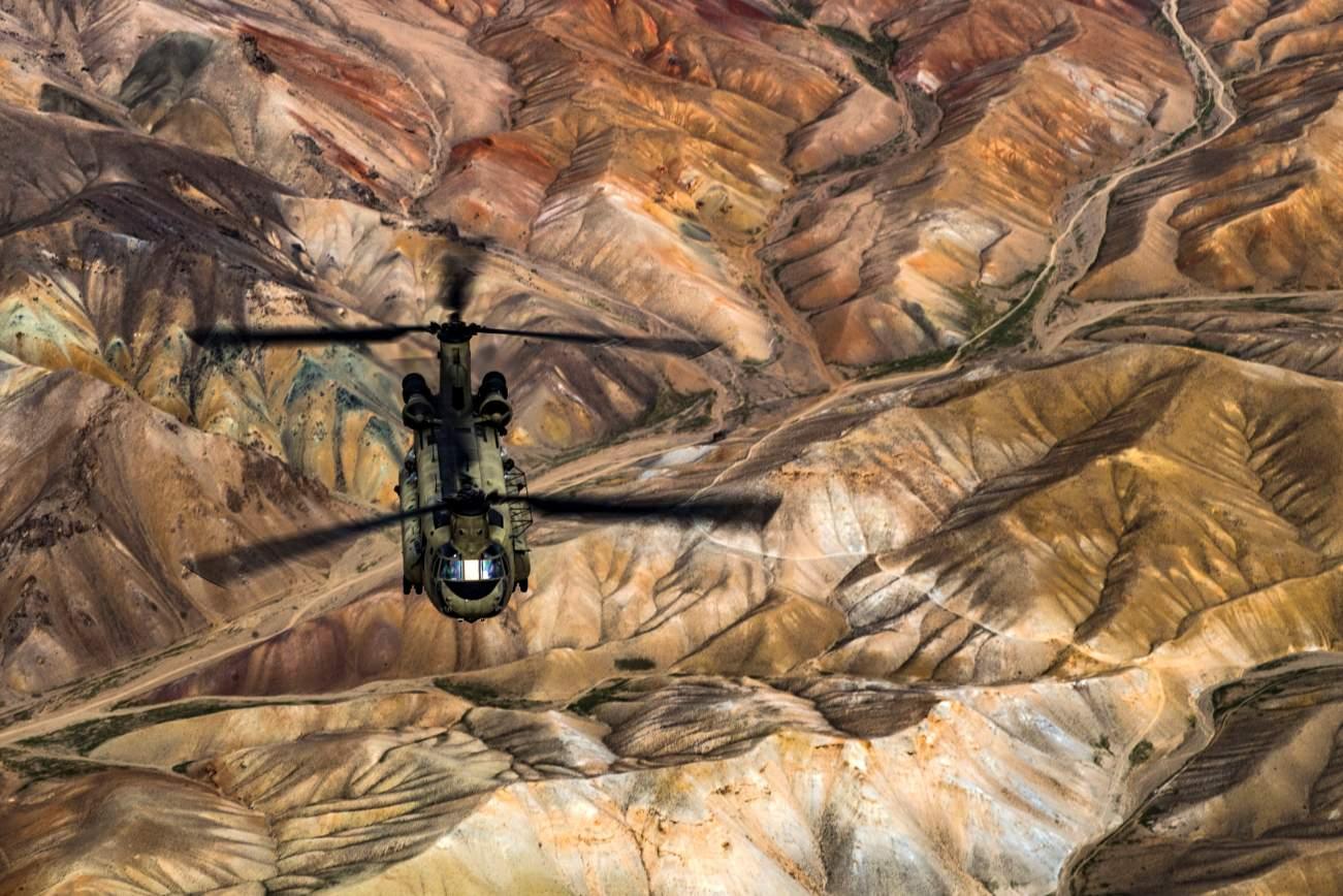 U.S. defence secretary makes surprise visit to war-weary Kabul