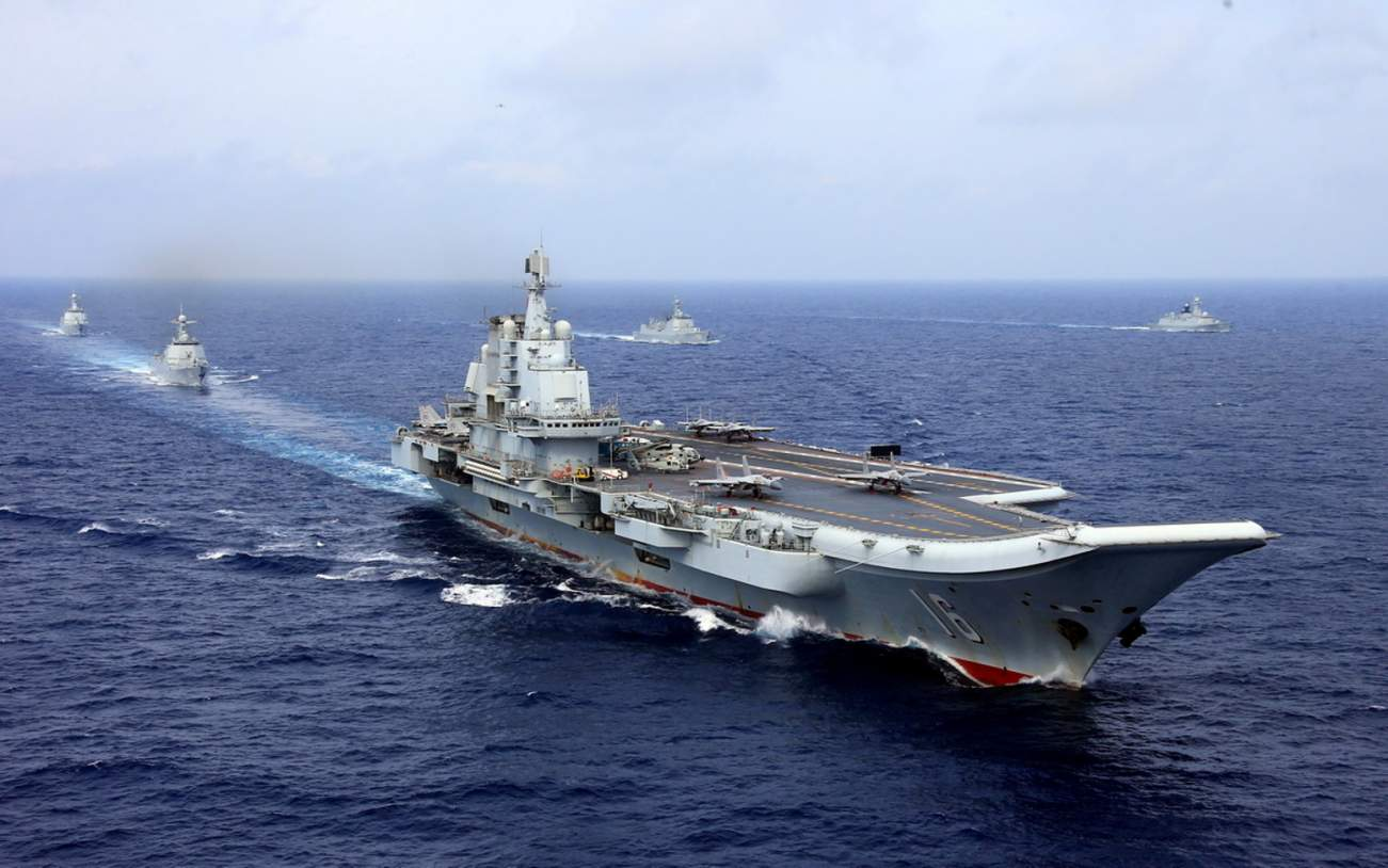 Would China Dare Sink 2 U.S. Aircraft Carriers in the South China Sea?