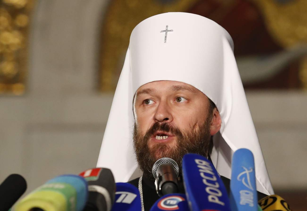 Russia's Patriarch Kirill blasts Constantinople church