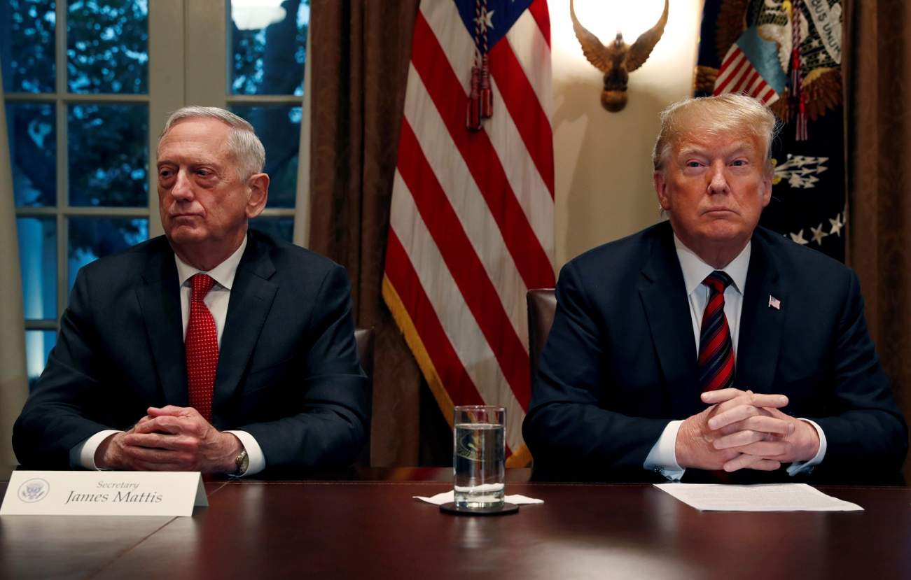 Mattis reportedly quit after Trump refused to reverse Syria decision