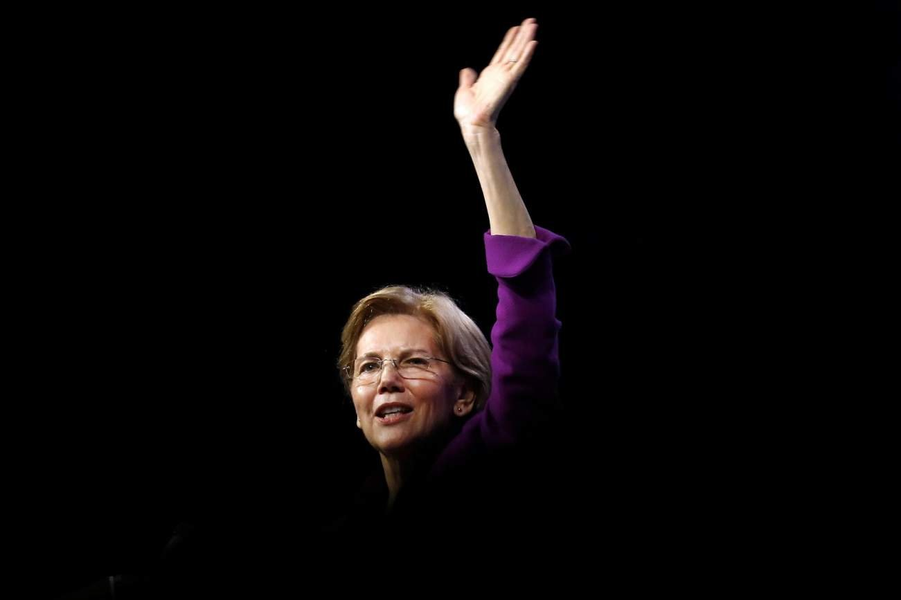 Voter confronts Elizabeth Warren over her DNA test. Warren's response is mind-boggling